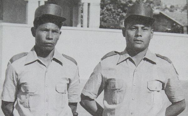 Membros da Guarda Rural Indígena.